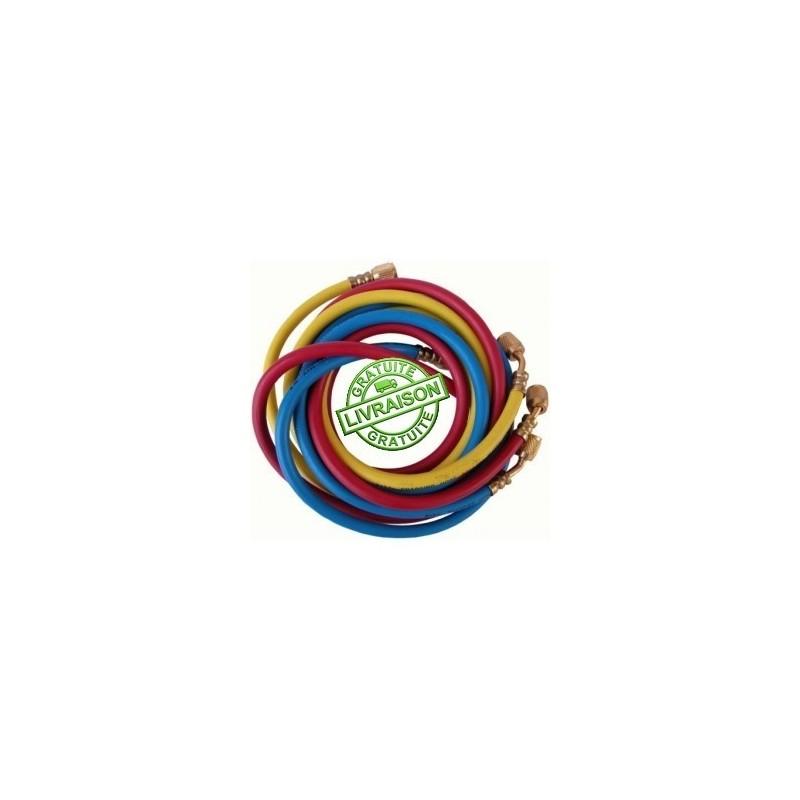 JEU DE 3 FLEXIBLES 150CM - 360RYB-S